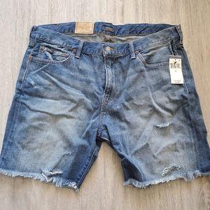 Polo Ralph Lauren Slim Fit Jean Shorts size 38 XL